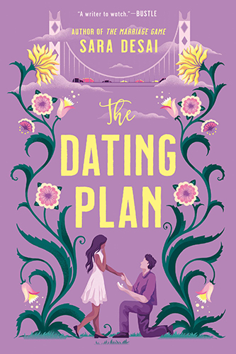 Cover art for The Dating Plan by Sara Desai