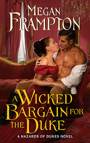 Cover art for A Wicked Bargain for the Duke by Megan Frampton