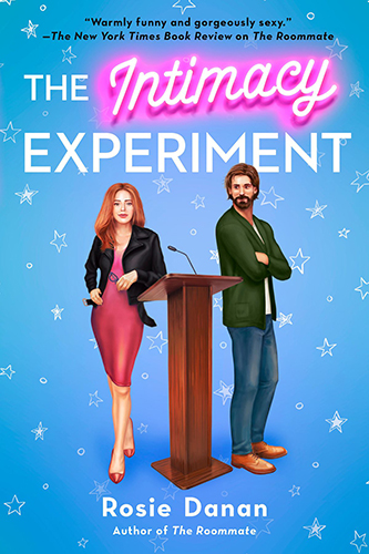 Cover art for the The Intimacy Experiment by Rosie Danan