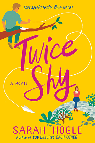 Cover art for Twice Shy by Sarah Hogle