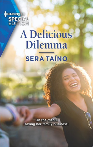 Cover art for A Delicious Dilemma by Sera Taíno.